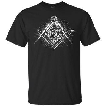 freemason hoodie - black