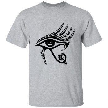 eye of horus shirts - sport grey