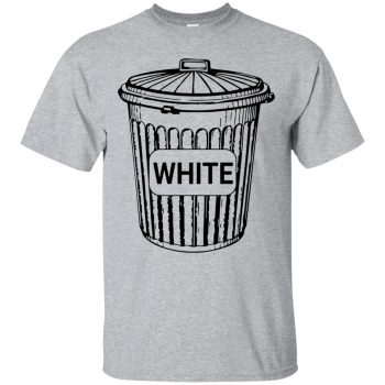 white trash shirts - sport grey