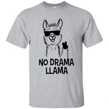 llama hoodies - sport grey