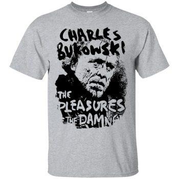 charles bukowski shirt - sport grey