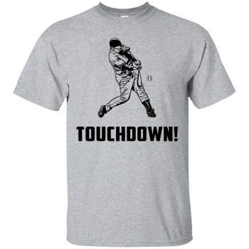 touchdown baseball shirt - sport grey