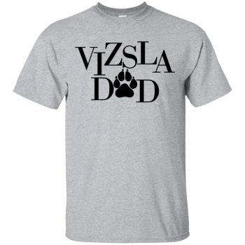 vizsla t shirt - sport grey