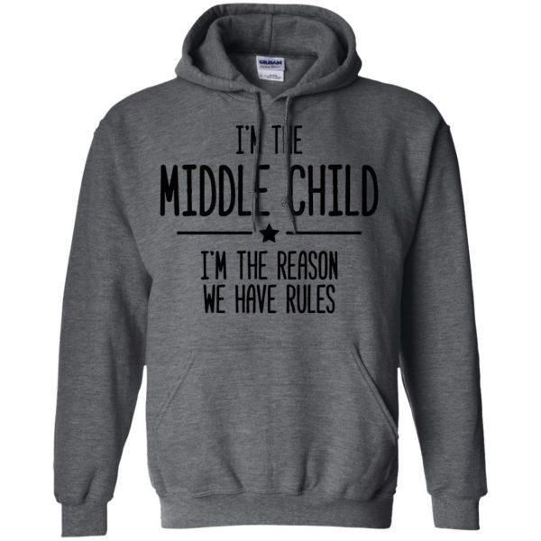 middle child hoodie - dark heather
