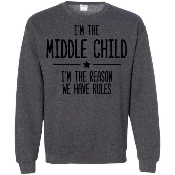 middle child sweatshirt - dark heather