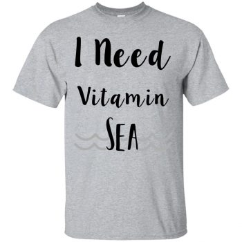 i need vitamin sea sweatshirt - sport grey
