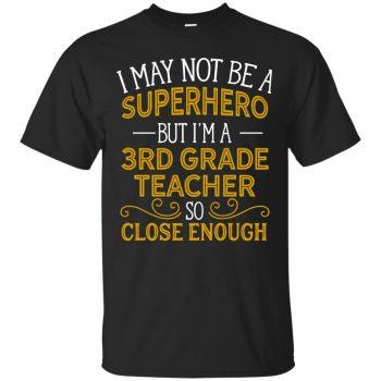 3rd grade teacher shirts - black