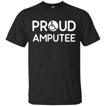 amputee t shirts - black
