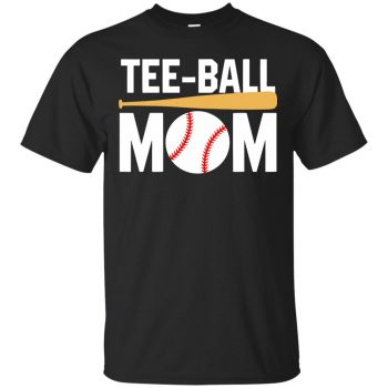 tball mom shirt - black