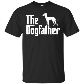 the dogfather shirt - black