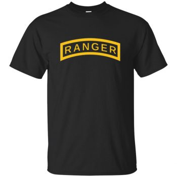 army ranger sweatshirt - black