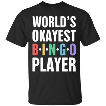 funny bingo shirts - black