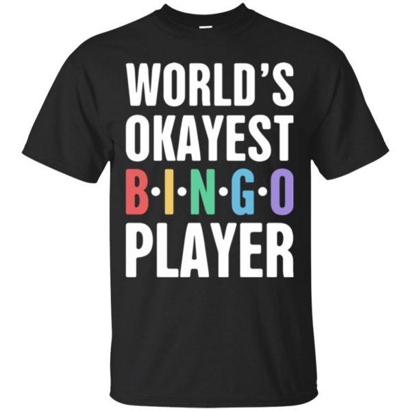 funny bingo shirts - black