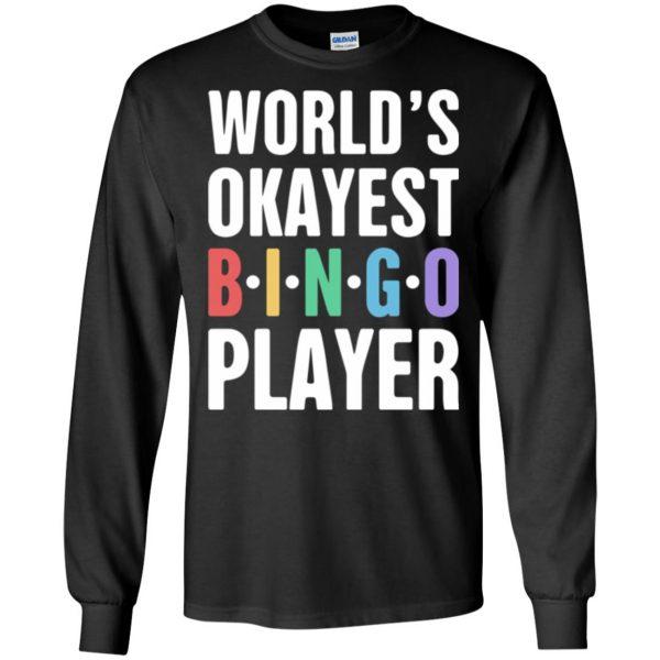 funny bingo long sleeve - black
