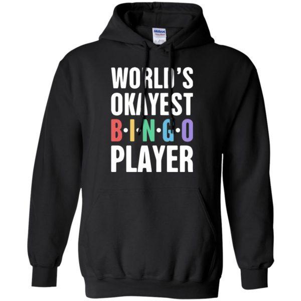 funny bingo hoodie - black