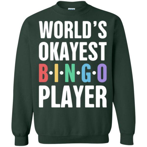 funny bingo sweatshirt - forest green