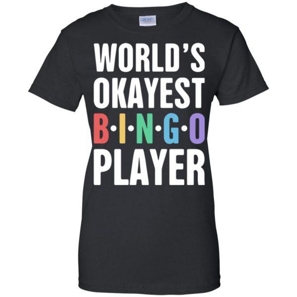 funny bingo womens t shirt - lady t shirt - black