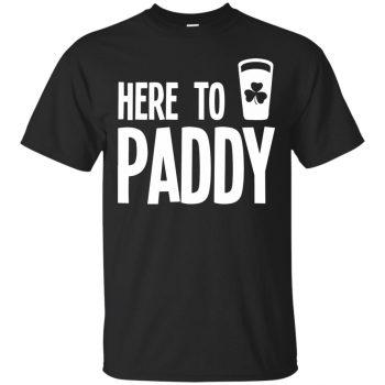 here to paddy shirt - black