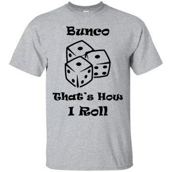 bunco t shirts - sport grey