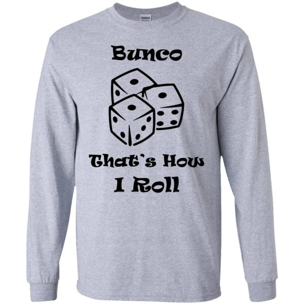 buncos long sleeve - sport grey