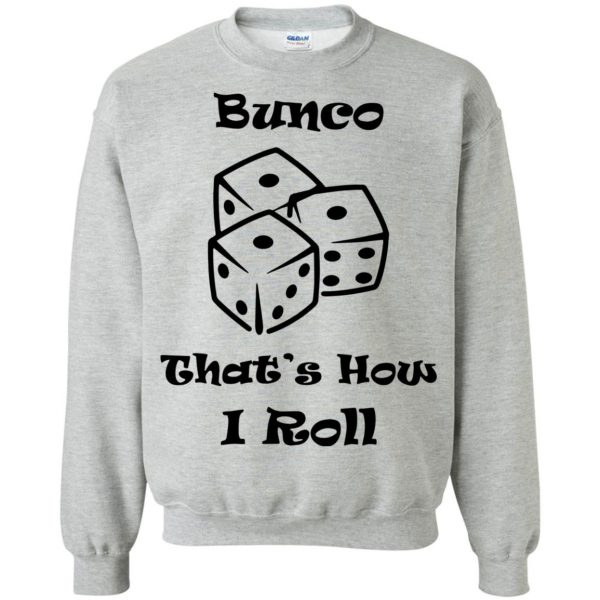 buncos sweatshirt - sport grey