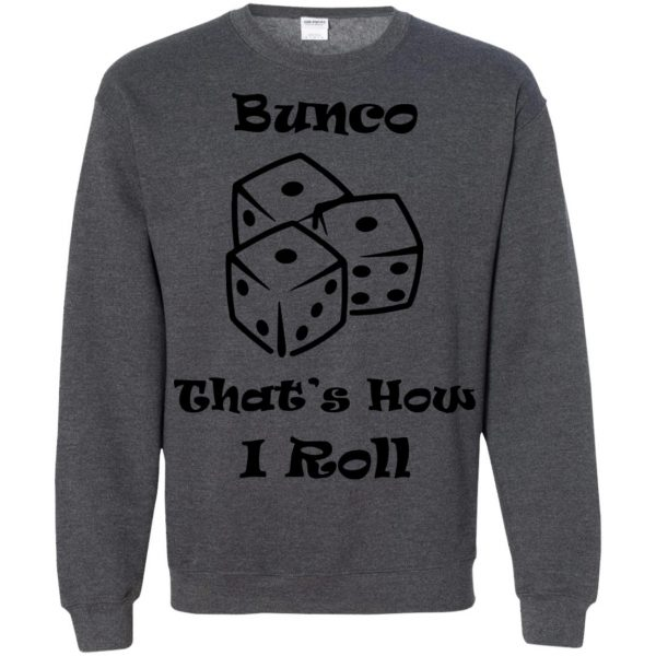 buncos sweatshirt - dark heather
