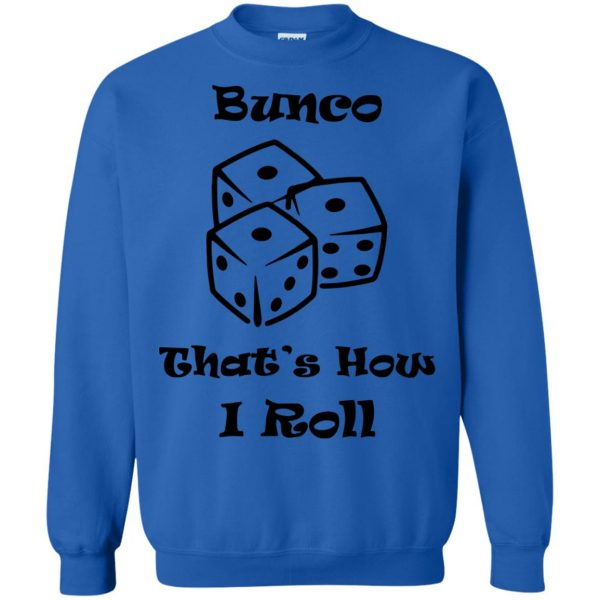 buncos sweatshirt - royal blue