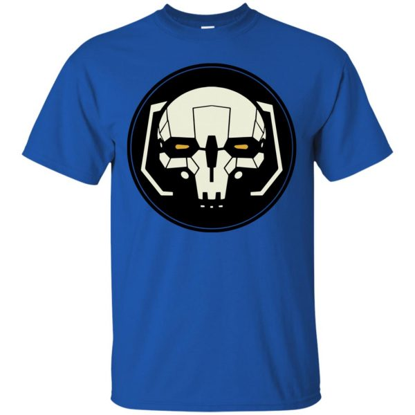 battletech t shirt - royal blue