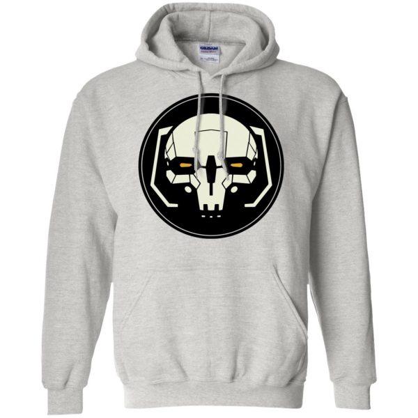 battletech hoodie - ash