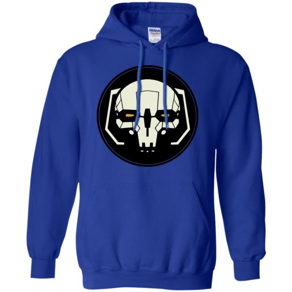 battletech hoodie - royal blue