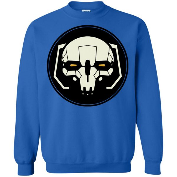 battletech sweatshirt - royal blue