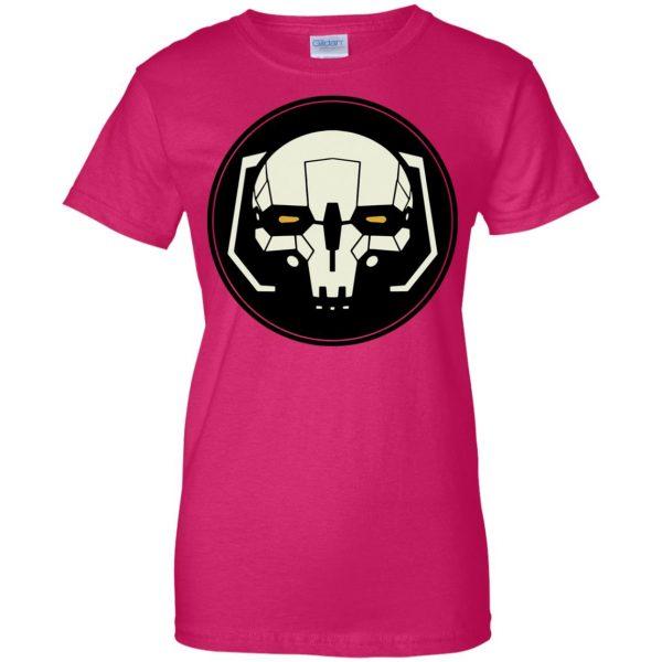 battletech womens t shirt - lady t shirt - pink heliconia