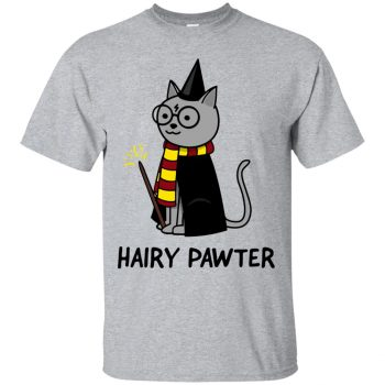 hairy pawter shirt - sport grey