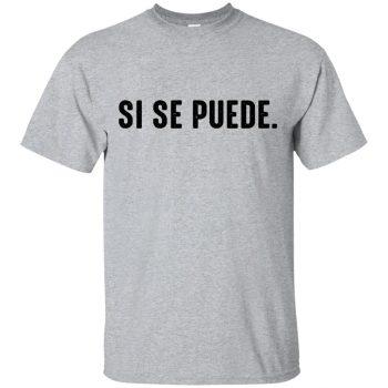 si se puede shirt - sport grey