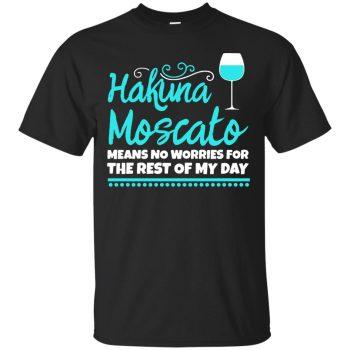 hakuna moscato shirt - black
