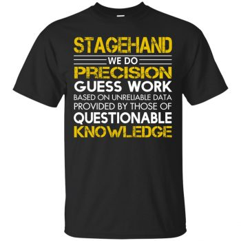 stagehand t shirts - black