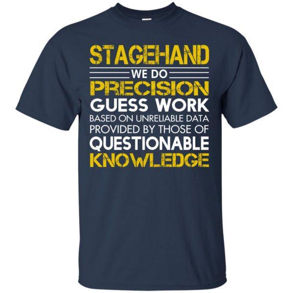 stagehand t shirt - navy blue