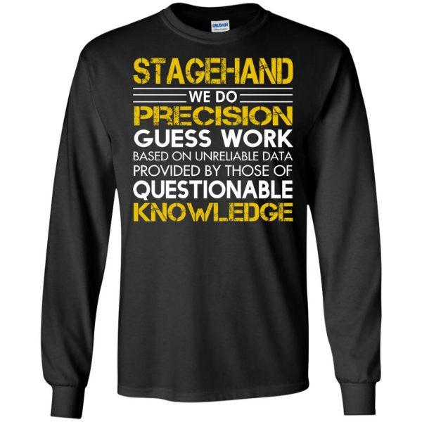 stagehand long sleeve - black