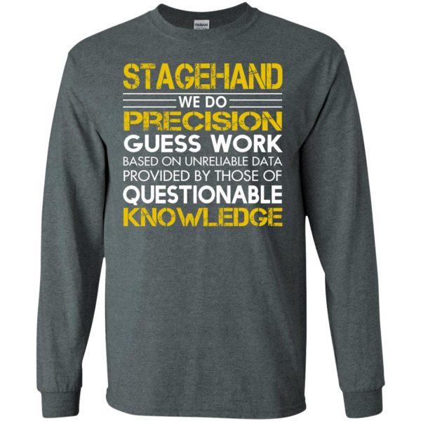 stagehand long sleeve - dark heather