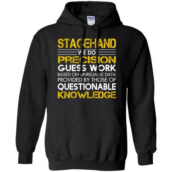 stagehand hoodie - black