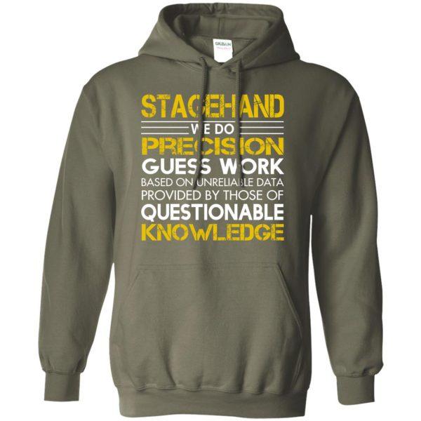 stagehand hoodie - military green