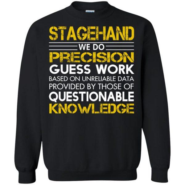stagehand sweatshirt - black