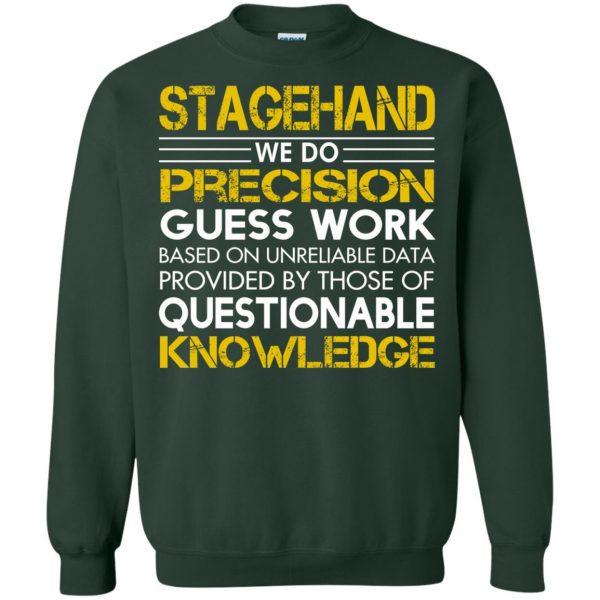 stagehand sweatshirt - forest green