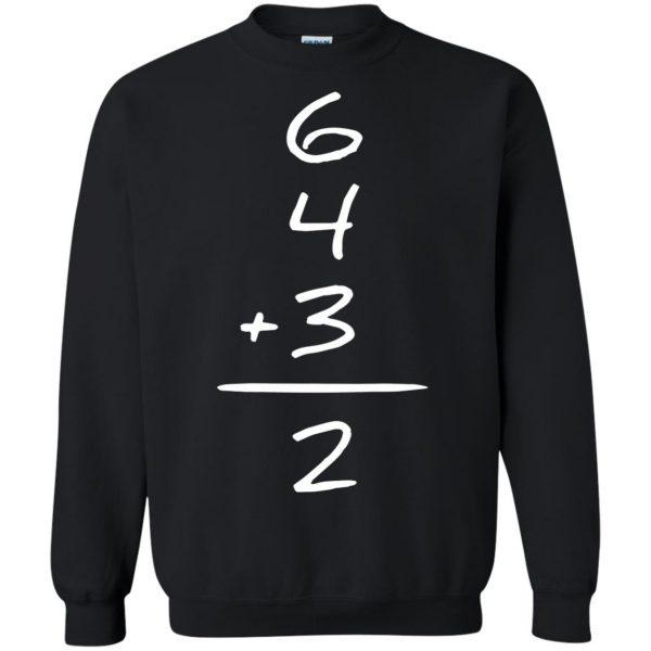 double play sweatshirt - black