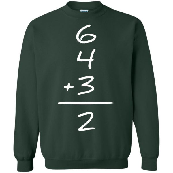double play sweatshirt - forest green