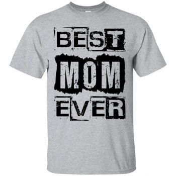 best mom ever hoodie - sport grey
