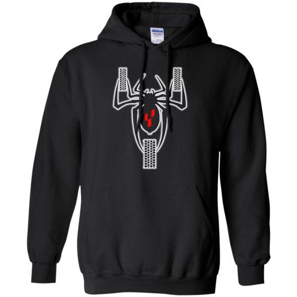 can am spyders hoodie - black