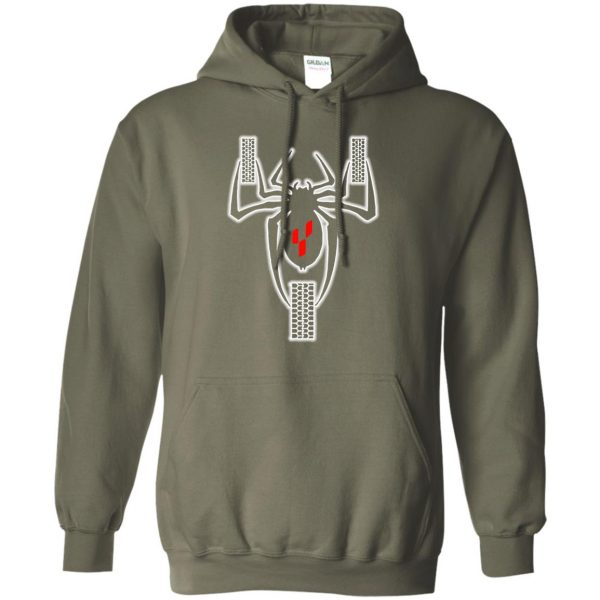 can am spyders hoodie - military green