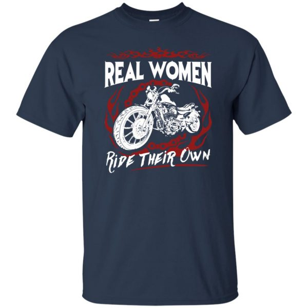 biker chick t shirts t shirt - navy blue