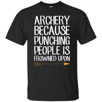 Archery because punching people is frowned upon - black